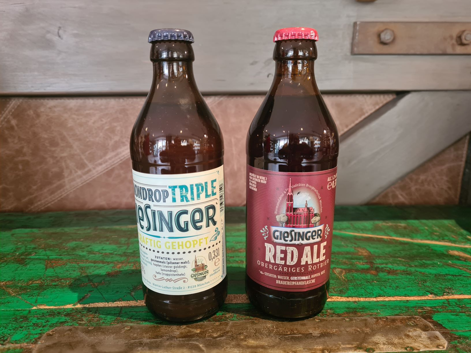 Giesinger Lemondrop & Red Ale